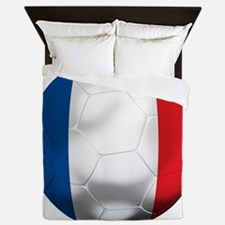 France Football Queen Duvet