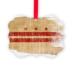 District of Columbia Flag Ornament