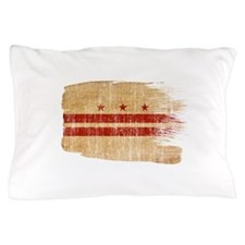 District of Columbia Flag Pillow Case