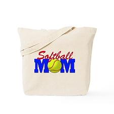 softball mom(white).png Tote Bag