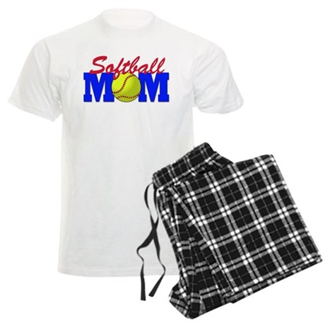 Softball MOM Men's Light Pajamas