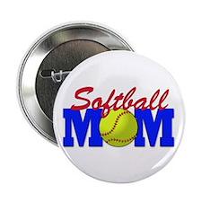 "Softball MOM 2.25"" Button (100 pack)"