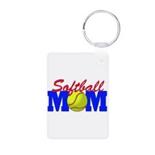Softball MOM Keychains