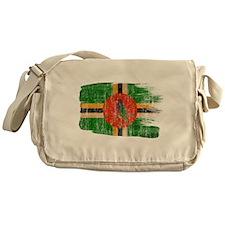 Dominica Flag Messenger Bag