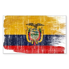 Ecuador Flag Decal