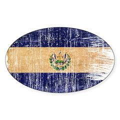 El Salvador Flag Decal