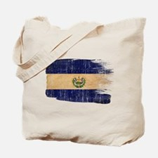 El Salvador Flag Tote Bag