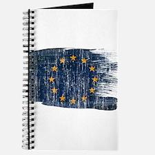 European Union Flag Journal