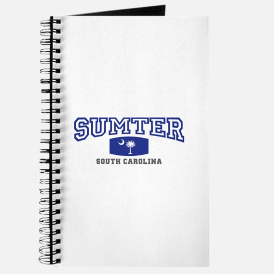 Sumter South Carolina, SC, Palmetto State Flag Jou