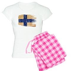 Finland Flag Pajamas