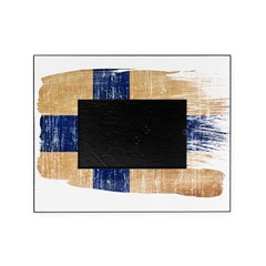 Finland Flag Picture Frame