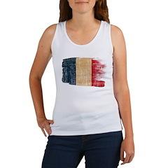 France Flag Women's Tank Top