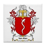 Van Alen Coat of Arms Tile Coaster