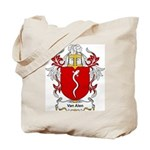 Van Alen Coat of Arms Tote Bag