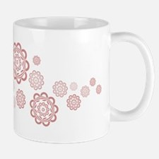 Obama Logo Hawaiian Flowers Mug