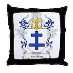 Van Aken Coat of Arms Throw Pillow