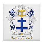Van Aken Coat of Arms Tile Coaster
