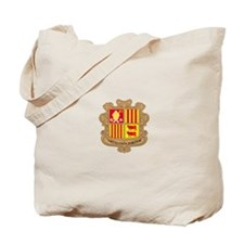 Andorra Coat of Arms Tote Bag