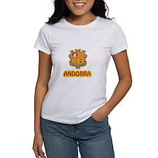 Andorra Coat of Arms Tee