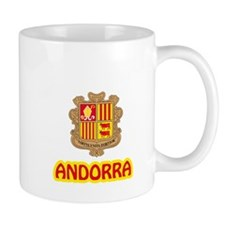 Andorra Coat of Arms Mug