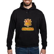 Andorra Coat of Arms Hoodie