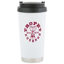 Trophy Husband Since 1972 Travel Mug