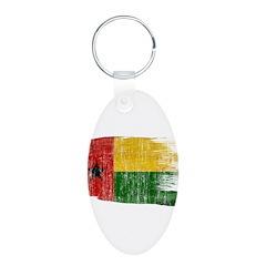 Guinea Bissau Flag Keychains