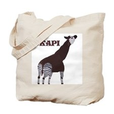 Okapi Painting Tote Bag
