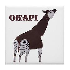 Okapi Painting Tile Coaster