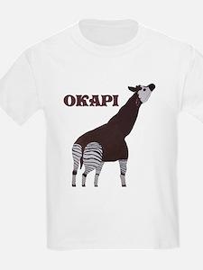 Okapi Painting Kids T-Shirt