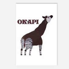 Okapi Painting Postcards (Package of 8)