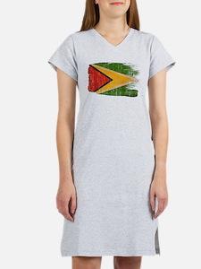 Guyana Flag Women's Nightshirt