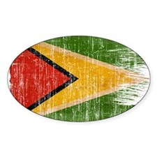 Guyana Flag Decal