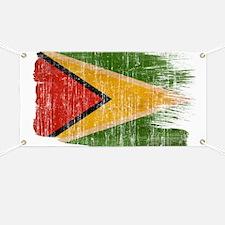 Guyana Flag Banner