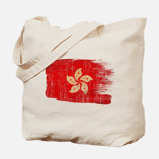 Hong Kongtex3-paint style aged copy.png Tote Bag