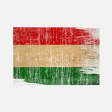 Hungary Flag Rectangle Magnet