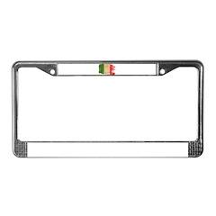 Italy Flag License Plate Frame