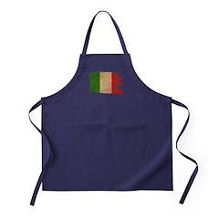 Italy Flag Apron (dark)