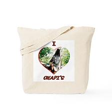 I Love Okapi's Tote Bag