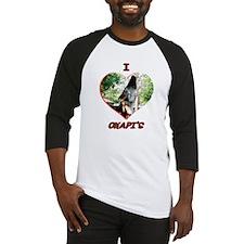 I Love Okapi's Baseball Jersey