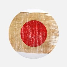 "Japan Flag 3.5"" Button"