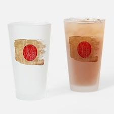 Japan Flag Drinking Glass