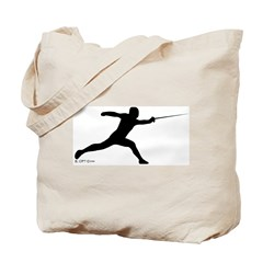 Lunge Tote Bag