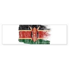 Kenya Flag Bumper Sticker