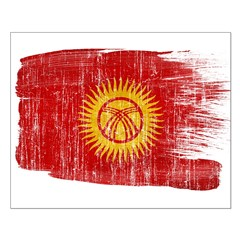 Kyrgyzstan Flag Posters