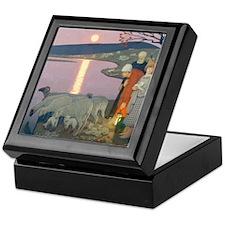 Pastoral Keepsake Box