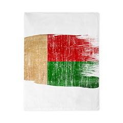 Madagascar Flag Twin Duvet