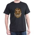 Native American Owl Mandala 1 Dark T-Shirt