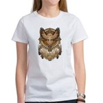Native American Owl Mandala 1 Women's T-Shirt