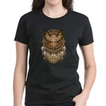 Native American Owl Mandala 1 Women's Dark T-Shirt